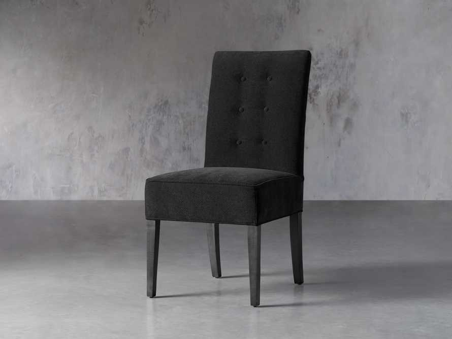 "Tao 21"" Upholstered Tufted Dining Side Chair, slide 2 of 5"