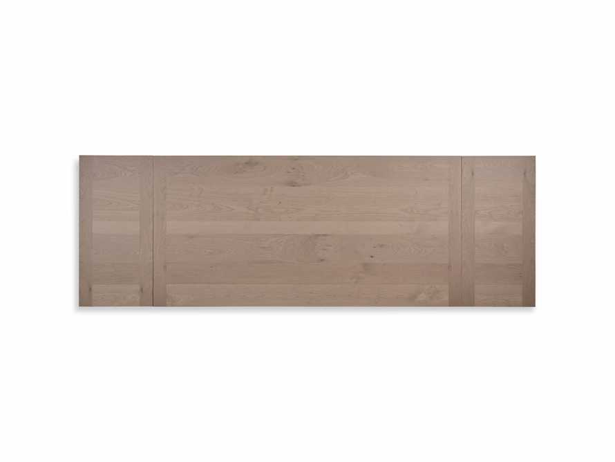 "Tavola 74"" Refectory Dining Table in Ombra Oak and All White, slide 10 of 10"