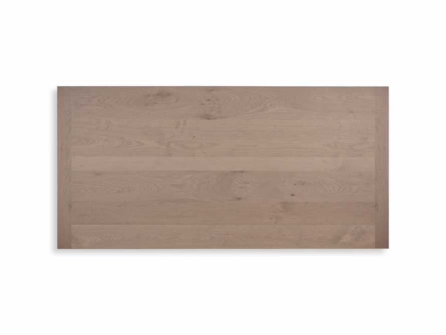 """Tavola 87"""" Refectory Dining Table in Ombra Oak and All White, slide 9 of 10"""