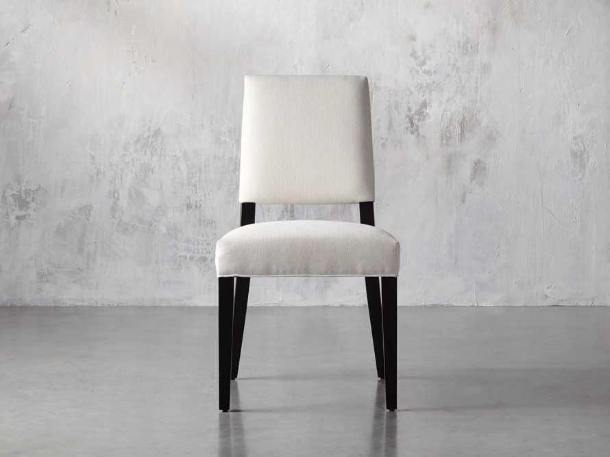 Teddi Upholstered Dining Side Chair, slide 1 of 11