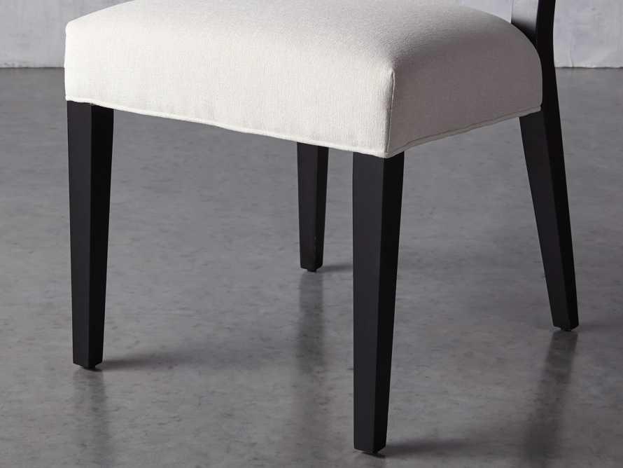Teddi Upholstered Dining Side Chair, slide 7 of 11