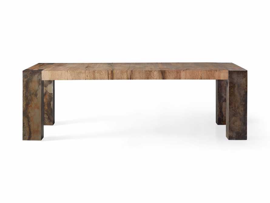 "Telluride 96"" Dining Table, slide 6 of 7"