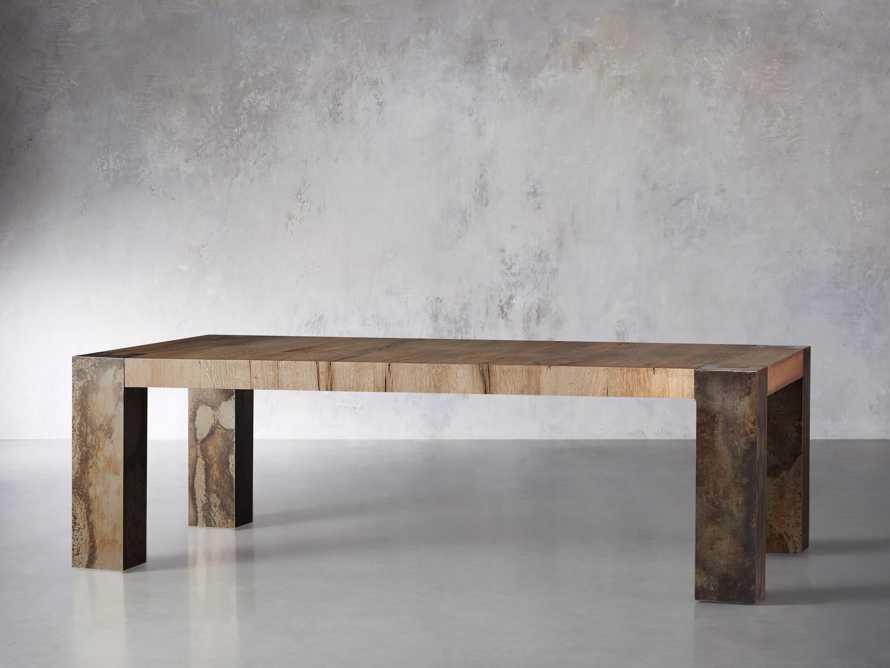 "Telluride 96"" Dining Table, slide 4 of 7"
