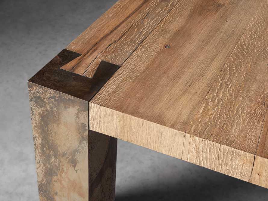 "Telluride 96"" Dining Table, slide 5 of 7"