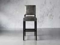 "Torino Recycled Leather 19"" Barstool"