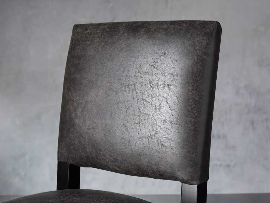 "Torino Recycled Leather 19"" Counter Stool, slide 5 of 7"