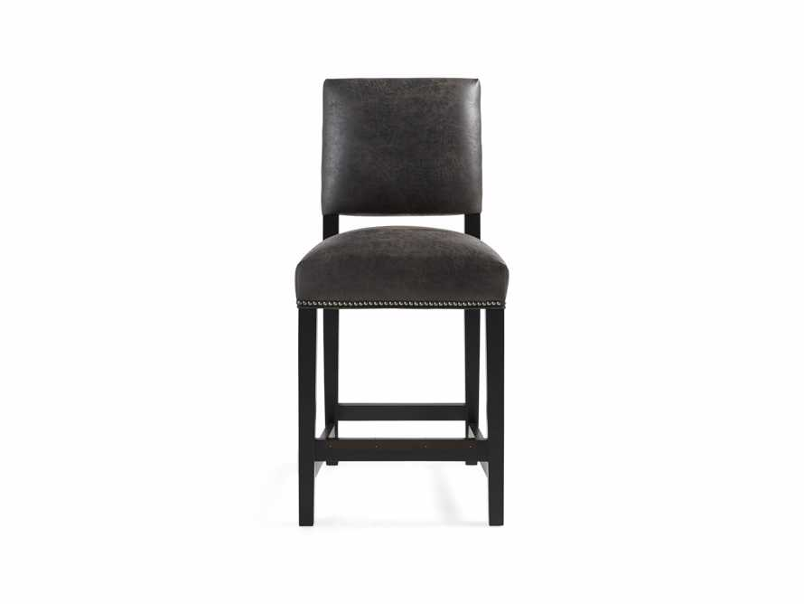 "Torino Recycled Leather 19"" Counter Stool"