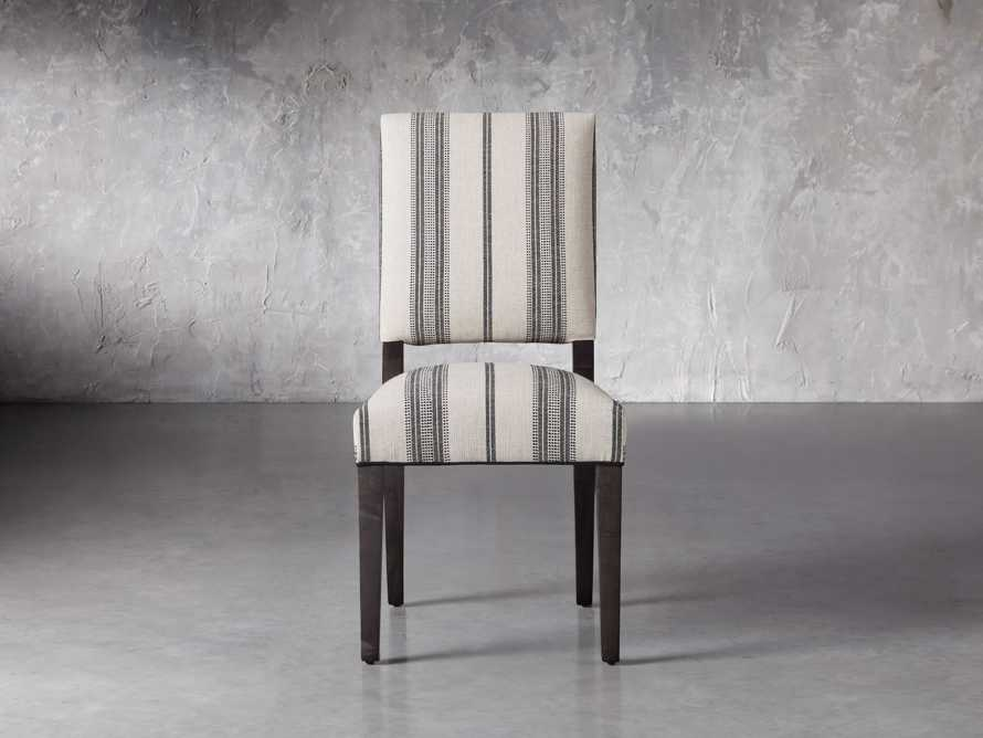 """Torino 20"""" Upholstered Dining Side Chair in With Contrast Welt, slide 1 of 7"""