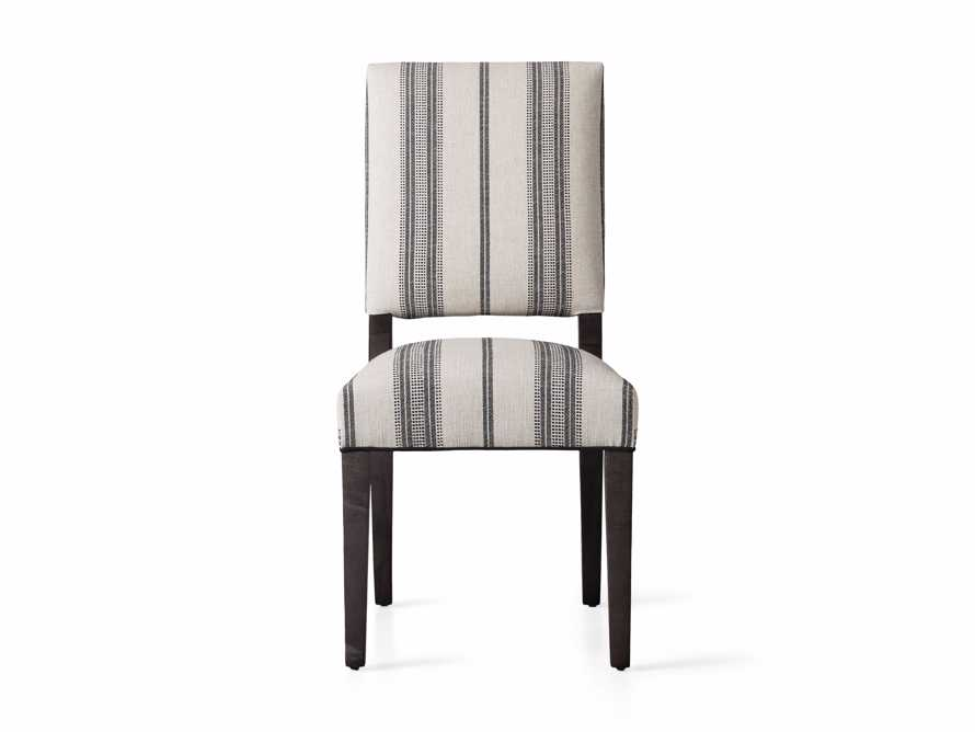"""Torino 20"""" Upholstered Dining Side Chair in With Contrast Welt, slide 6 of 7"""