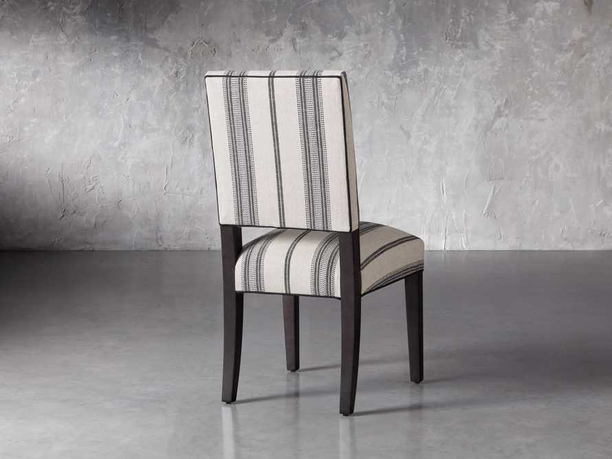 """Torino 20"""" Upholstered Dining Side Chair in With Contrast Welt, slide 4 of 7"""