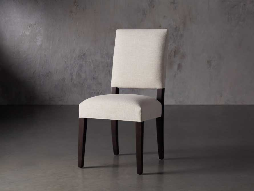 "Torino Upholstered 20"" Dining Side Chair, slide 3 of 10"
