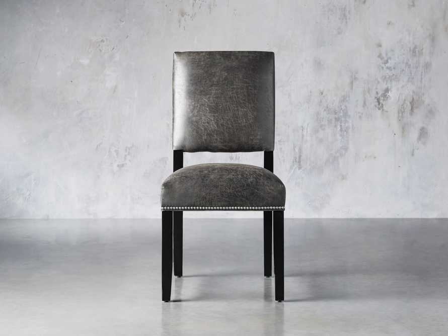 "Torino Recycled Leather 20"" Dining Side Chair, slide 1 of 9"