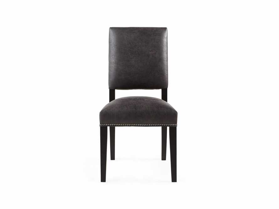 "Torino Recycled Leather 20"" Dining Side Chair, slide 5 of 9"