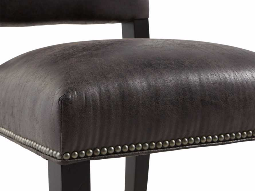 "Torino Recycled Leather 20"" Dining Side Chair, slide 7 of 9"