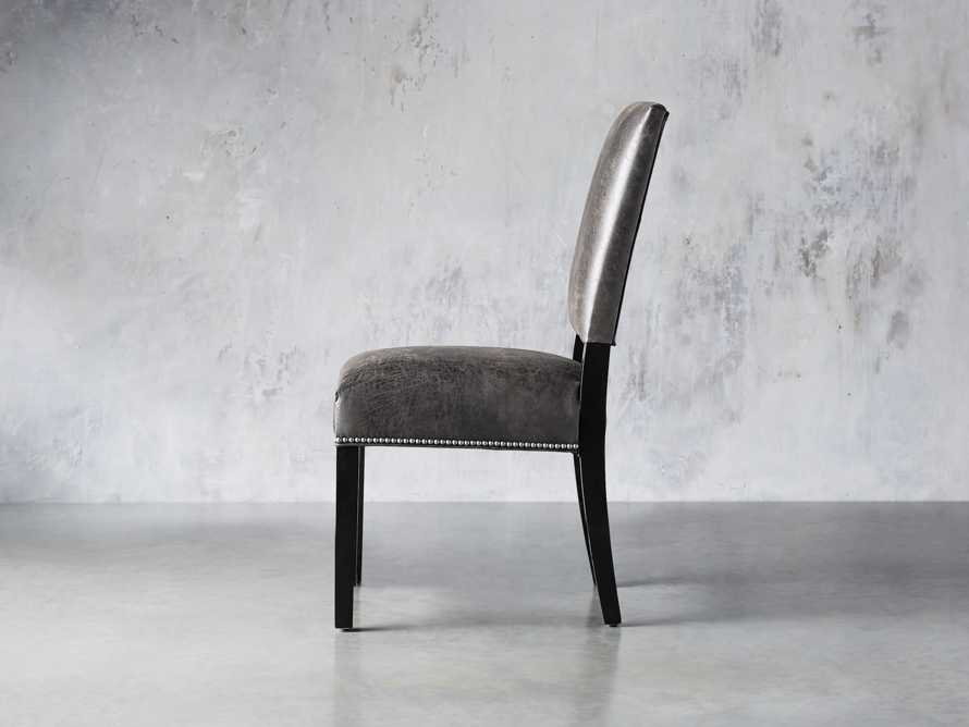 "Torino Recycled Leather 20"" Dining Side Chair, slide 3 of 9"