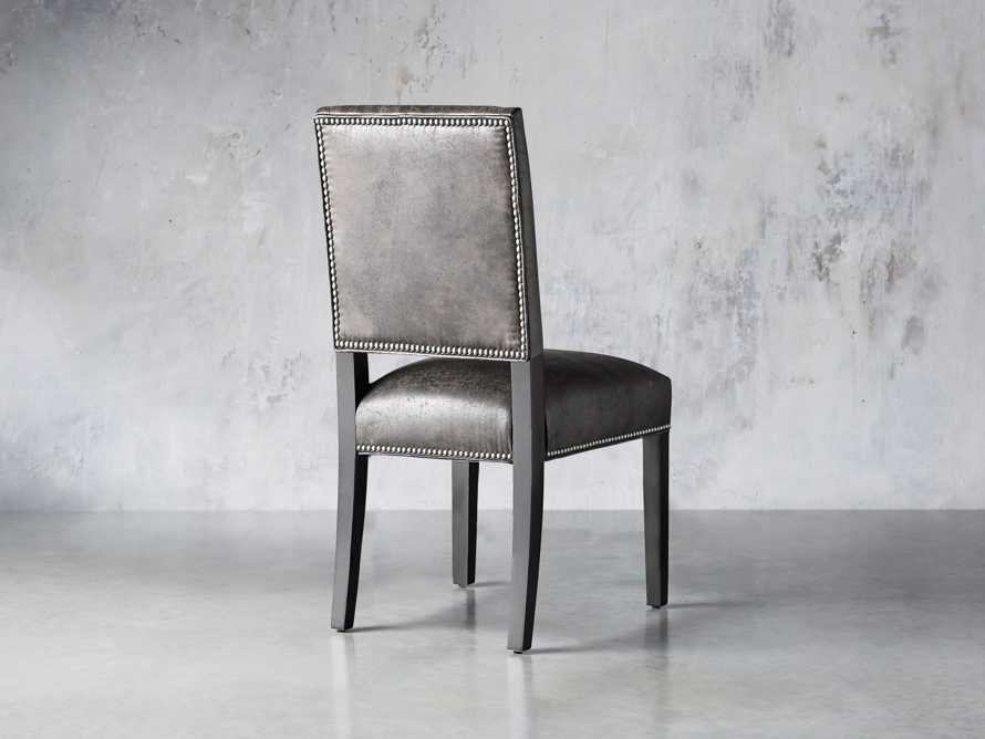 "Torino Recycled Leather 20"" Dining Side Chair, slide 4 of 9"