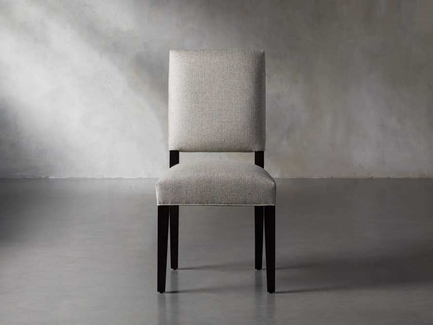 Torino Upholstered Dining Side Chair in Turbo Ash, slide 2 of 9