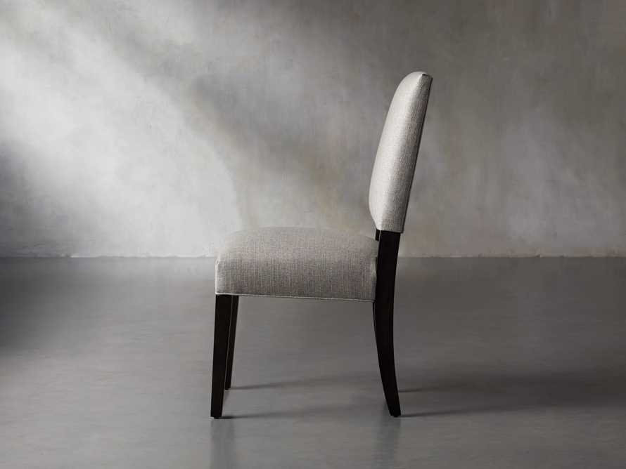 Torino Upholstered Dining Side Chair in Turbo Ash, slide 4 of 9