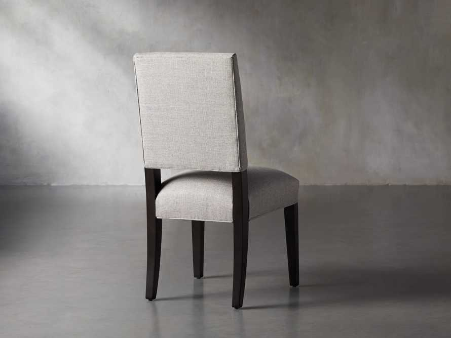 Torino Upholstered Dining Side Chair in Turbo Ash, slide 5 of 9