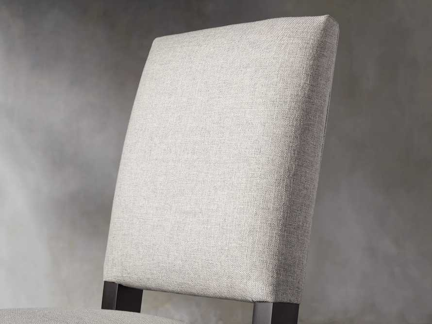Torino Upholstered Dining Side Chair in Turbo Ash, slide 6 of 9