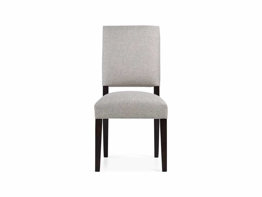Torino Upholstered Dining Side Chair in Turbo Ash, slide 8 of 9