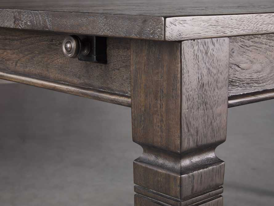 "Toulon 80"" Dining Table in Toasted Henna, slide 5 of 10"