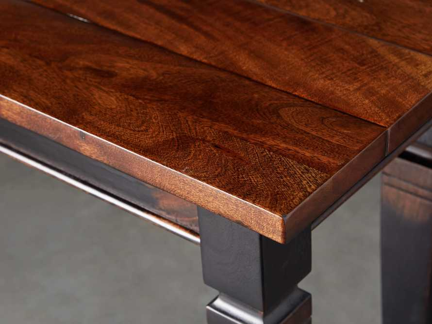 "Toulon 54"" Bench in Toasted Auburn, slide 4 of 7"