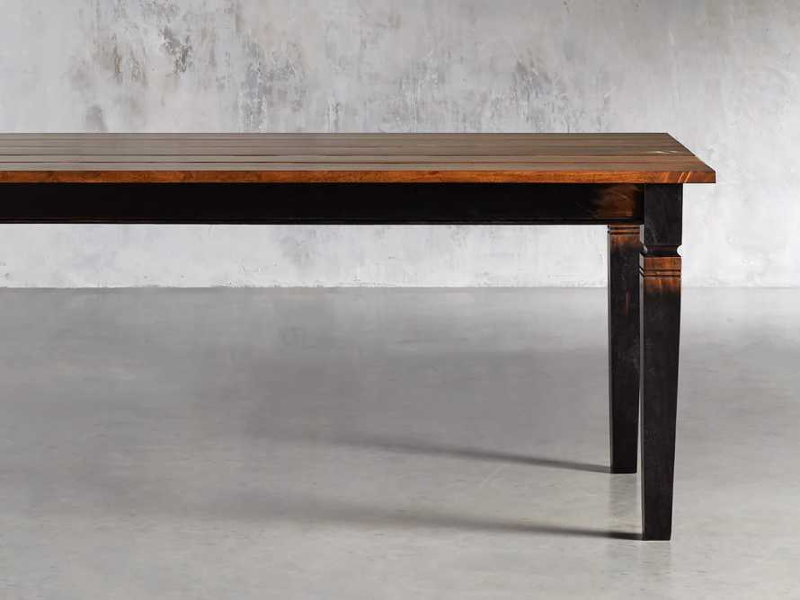 """Toulon 66"""" Extension Dining Table in Toasted Auburn, slide 1 of 10"""