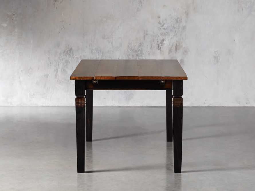 """Toulon 66"""" Extension Dining Table in Toasted Auburn, slide 4 of 10"""