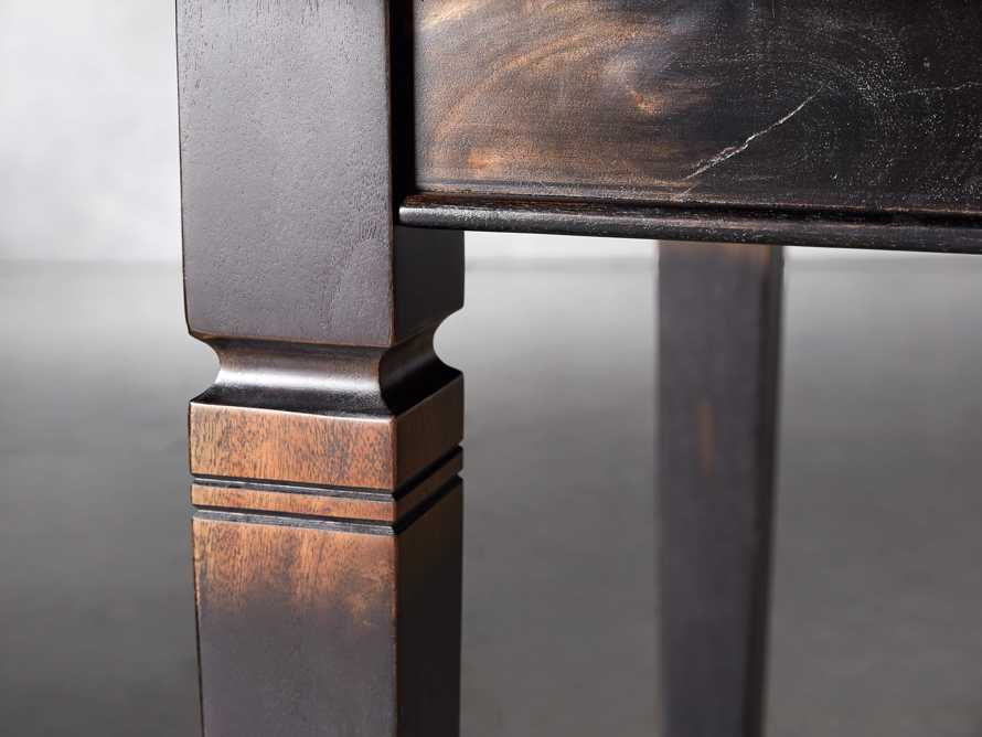 """Toulon 66"""" Extension Dining Table in Toasted Auburn, slide 6 of 10"""