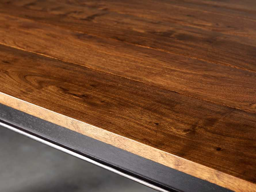 """Toulon 66"""" Extension Dining Table in Toasted Auburn, slide 7 of 10"""