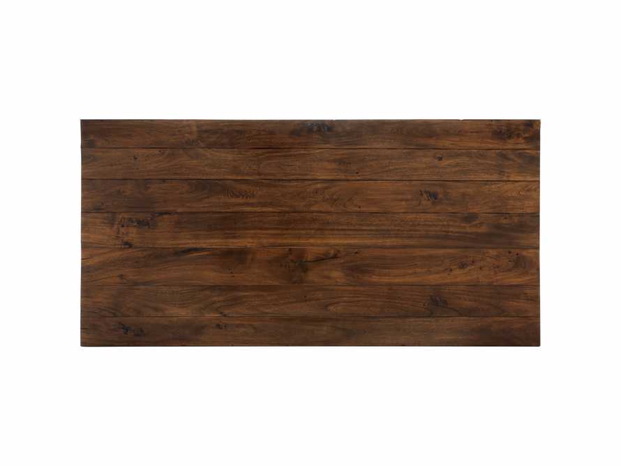 """Toulon 66"""" Extension Dining Table in Toasted Auburn, slide 8 of 10"""
