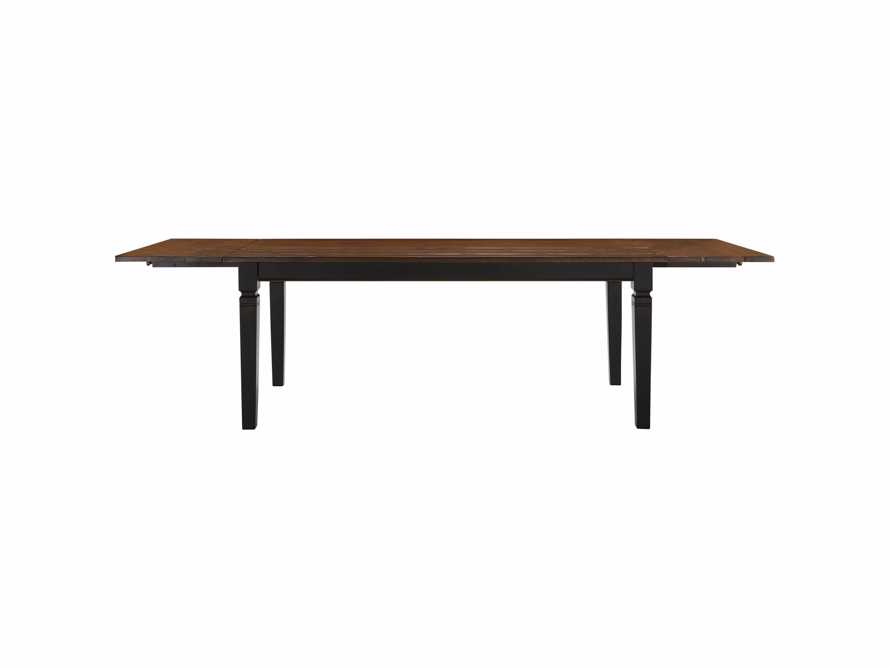 """Toulon 66"""" Extension Dining Table in Toasted Auburn, slide 10 of 10"""