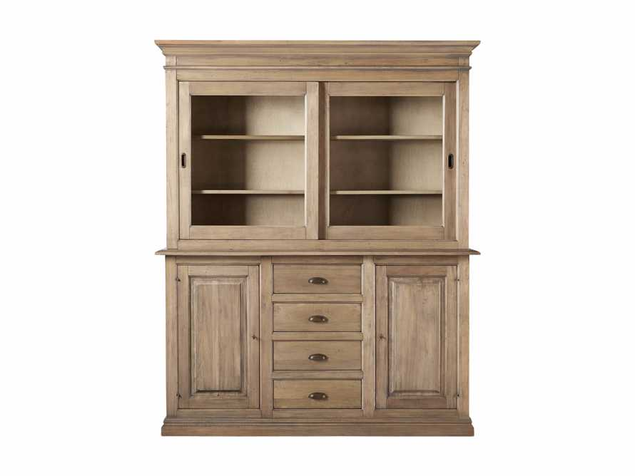 """Tuscany 74"""" Hutch and Buffet in Blonde, slide 6 of 6"""