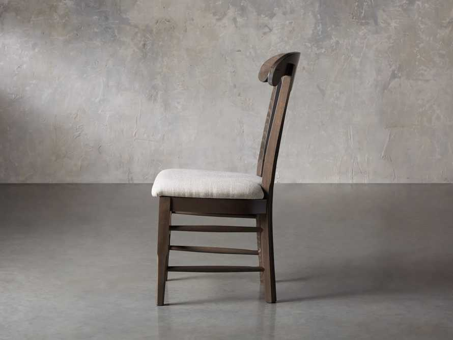 "Tuscany 25"" Dining Side Chair in Porfido"