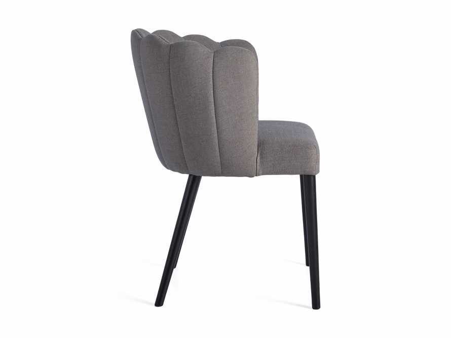 "Ursula 24"" Dining Chair in Ardesia Grey, slide 7 of 7"