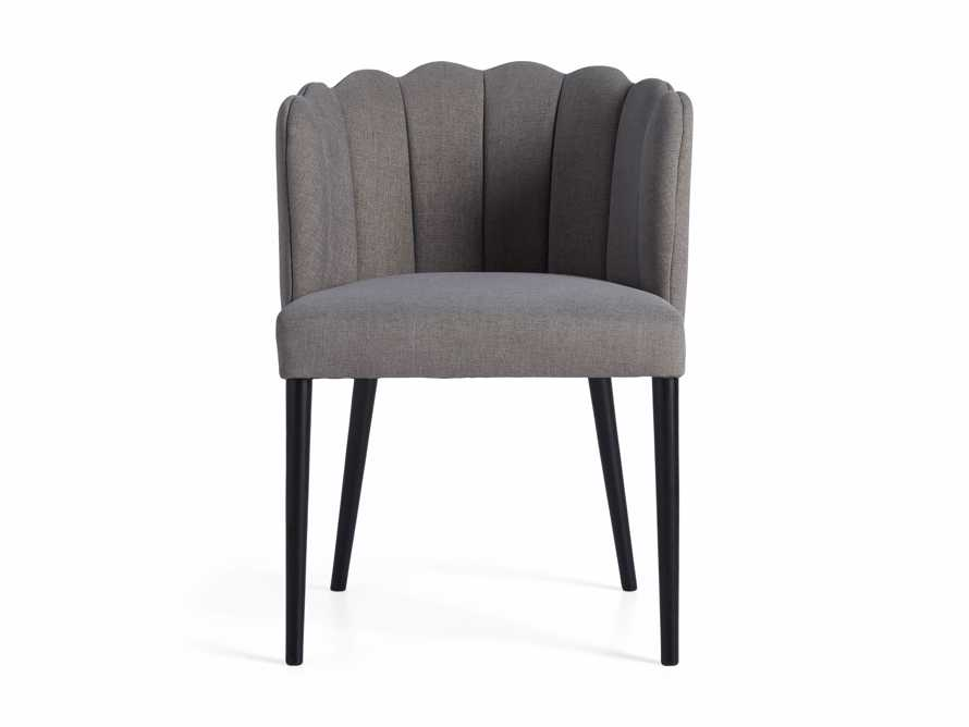 "Ursula 24"" Dining Chair in Ardesia Grey, slide 6 of 7"