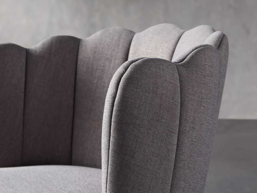 "Ursula 24"" Dining Chair in Ardesia Grey, slide 5 of 7"