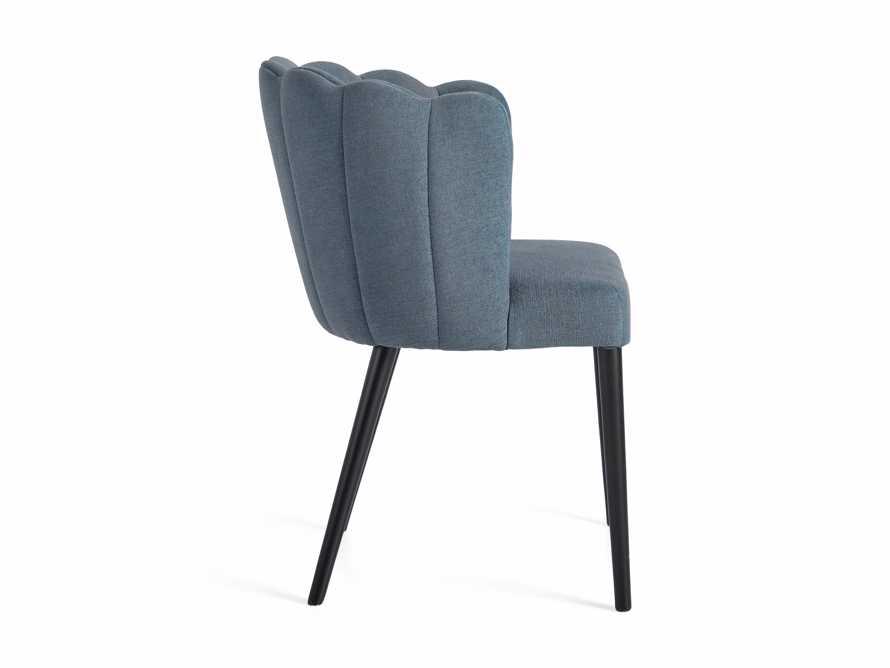 "Ursula 24"" Dining Chair in Grecia Sea, slide 7 of 7"