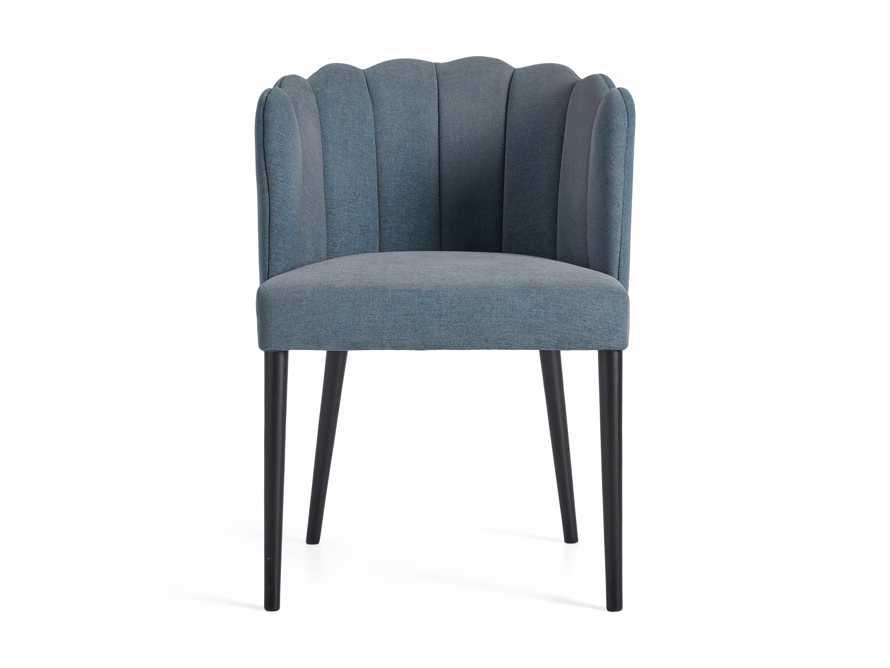 "Ursula 24"" Dining Chair in Grecia Sea, slide 6 of 7"