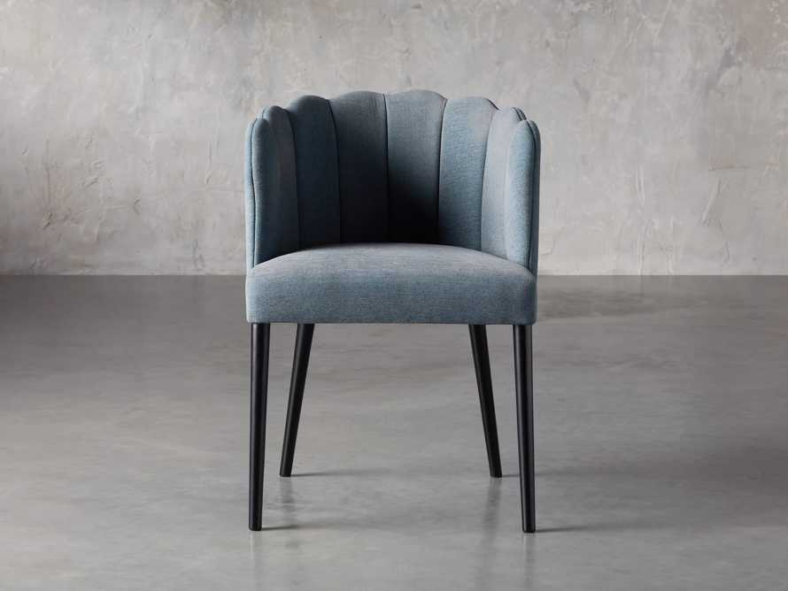 "Ursula 24"" Dining Chair in Grecia Sea, slide 1 of 7"