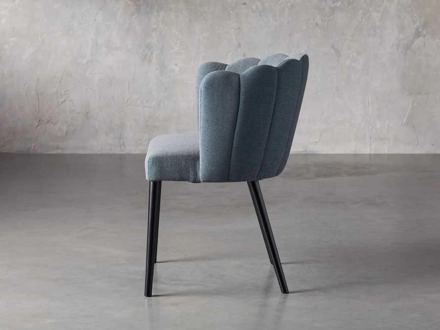 "Ursula 24"" Dining Chair in Grecia Sea, slide 3 of 7"
