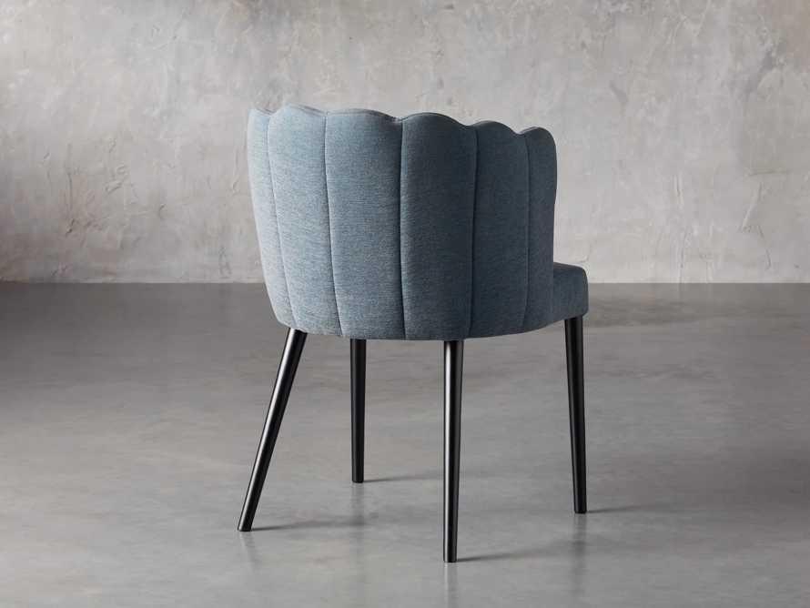 "Ursula 24"" Dining Chair in Grecia Sea, slide 4 of 7"