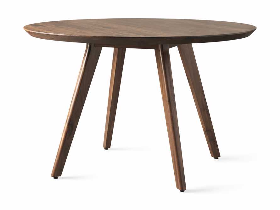 """Wagner 48"""" Round Dining Table, slide 4 of 4"""