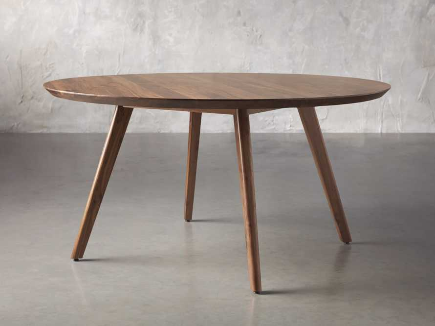 "Wagner 54"" Round Dining Table, slide 2 of 6"