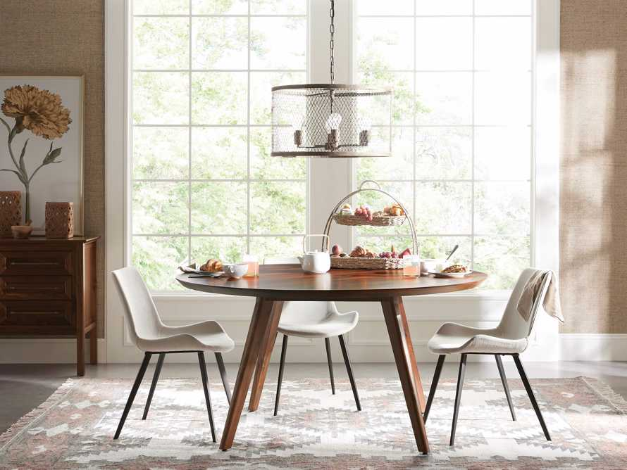 "Wagner 54"" Round Dining Table, slide 1 of 6"