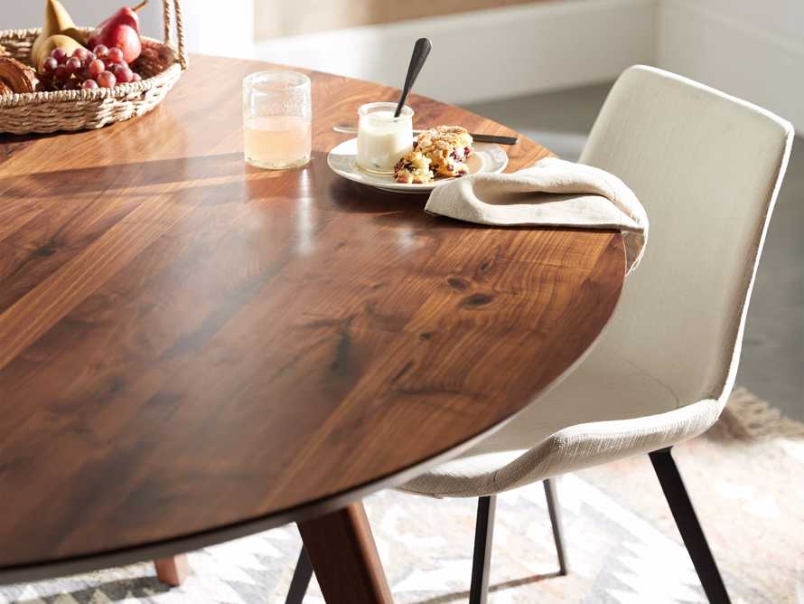 "Wagner 54"" Round Dining Table, slide 4 of 6"