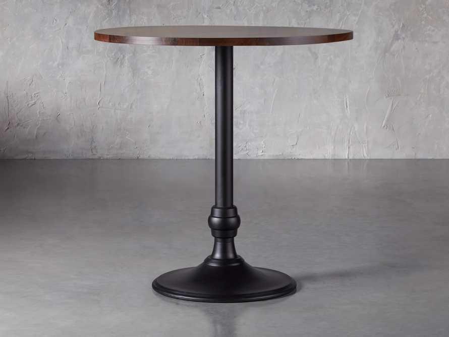 "Wade 42"" Bar Table with Wade Black Base, slide 1 of 3"