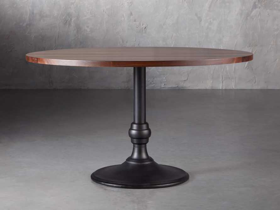 """Wade 48"""" Dining Table with Wade Black Base, slide 1 of 3"""