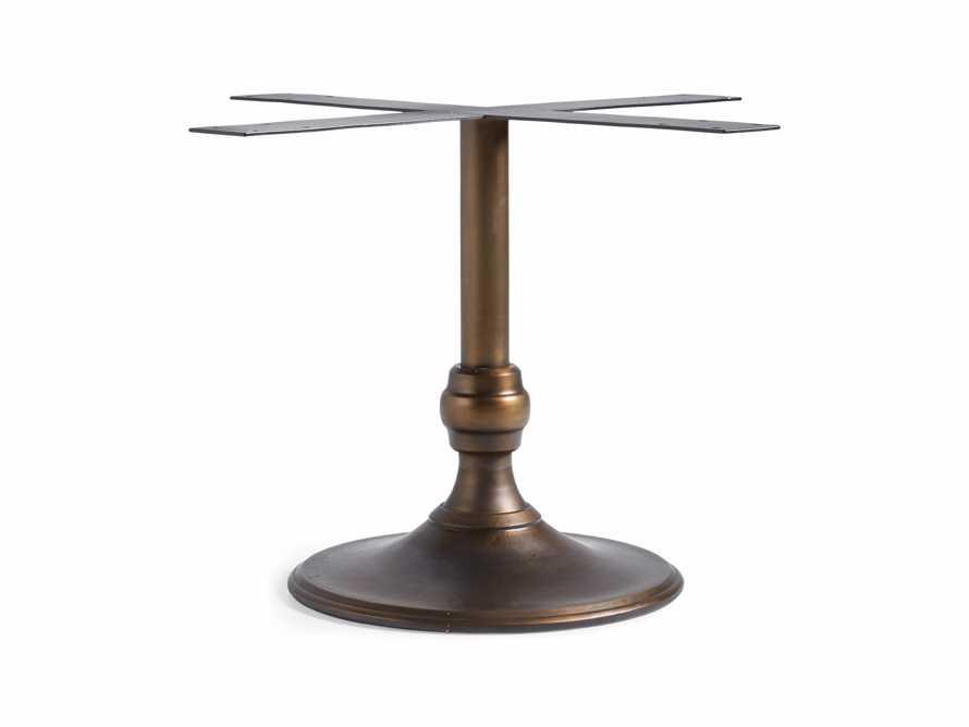 "Wade 24"" Metal Dining Table Base, slide 1 of 1"